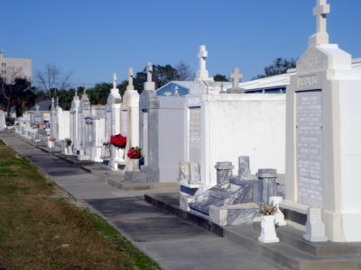 Whitewashed tombs